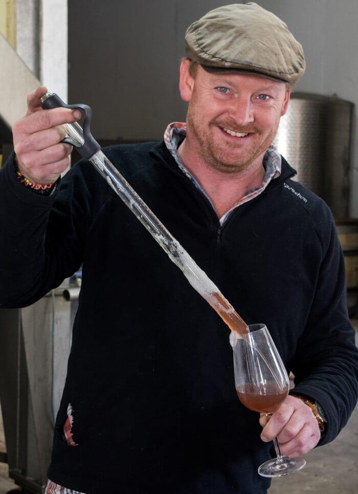 Expert winemaker Dermot Sugrue